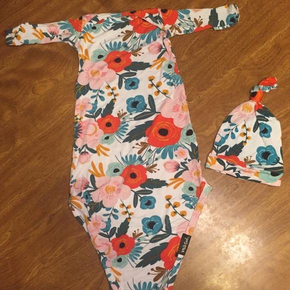 94a56f9f5 Milk Snob Knotted Hat & Gown Set